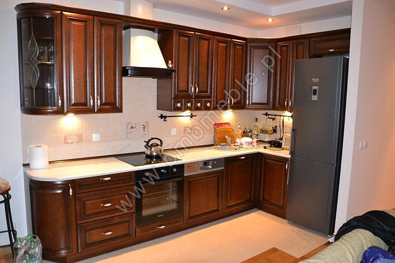 Kuchnie stylowe -> Kuchnie Drewniane Stylowe